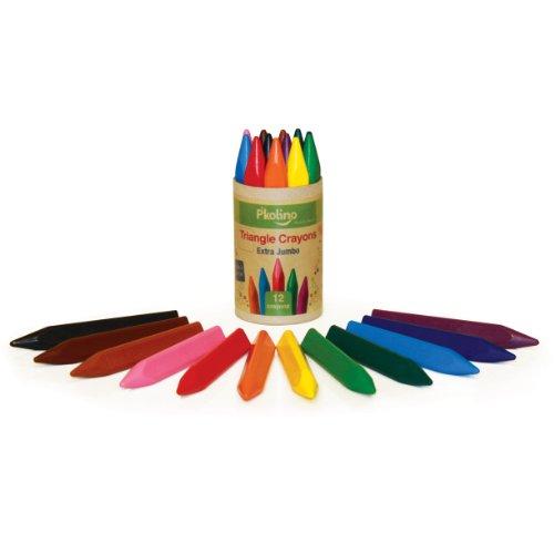P'Kolino Triangular Crayons Extra Jumbo