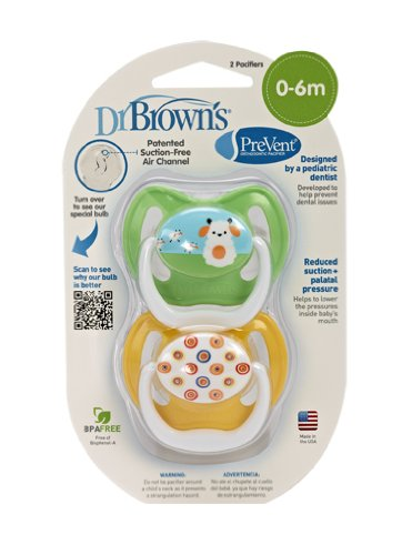 Dr. Brown's PreVent Design Pacifier