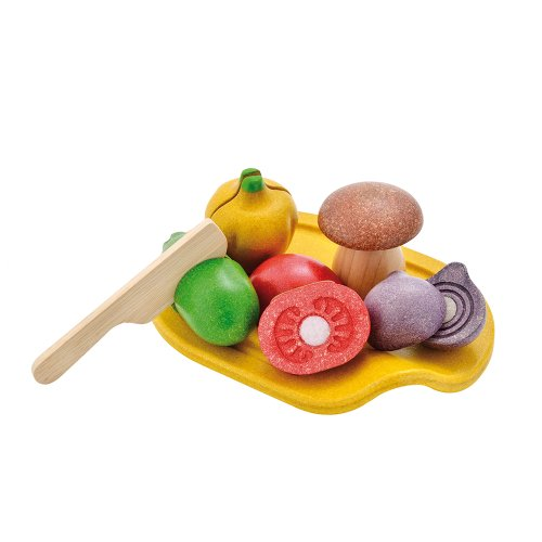 Plan Toys Assorted Vegetable Playset