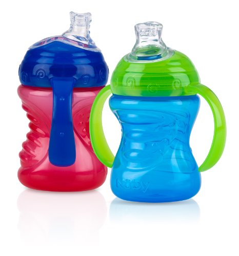 Nuby 2 Handle Cup with No Spill Super Spout