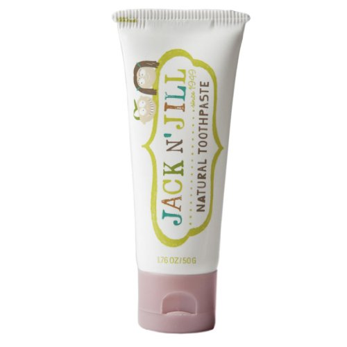 Jack n' Jill - Natural Toothpaste Fluoride-Free with Certified Organic Raspberry