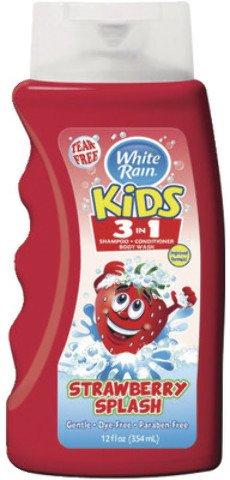 White Rain Kids Straw Shampoo