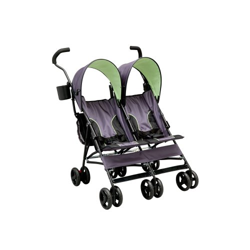 Delta LX Side by Side Tandem Umbrella Stroller