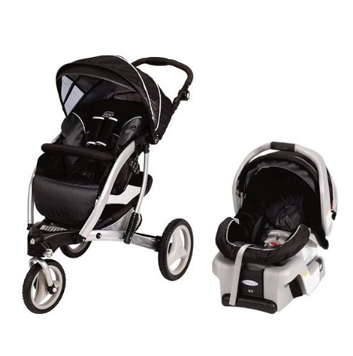 Graco Trekko Stroller & SnugRide Car Seat Travel System