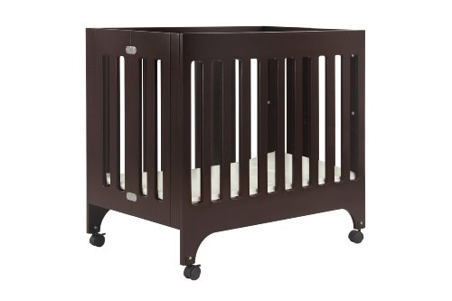 babyletto Grayson Mini Crib with Mattress Pad