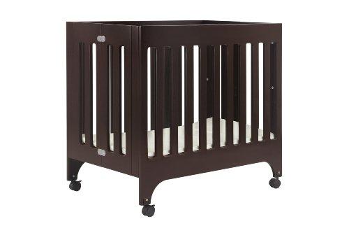 babyletto Grayson Mini Crib with Mattress Pad