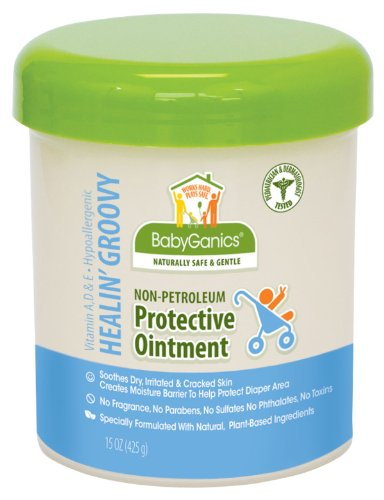 BabyGanics Healin Groovy Non-Petroleum Protective Ointment