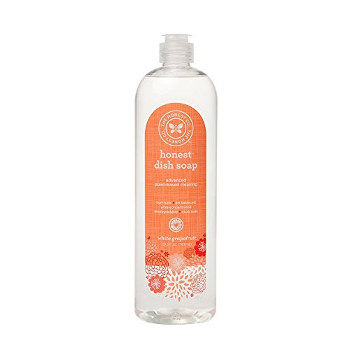The Honest Company White Grapefruit Dish Soap