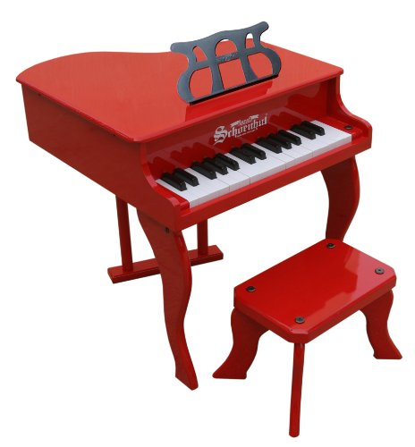 Schoenhut 30 Key Fancy Baby Grand with Bench