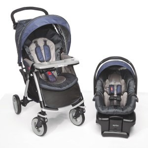Aprica Moto Lightweight Travel System