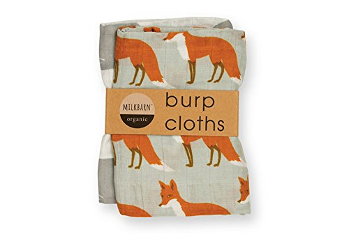 Milkbarn Organic Burp Cloths