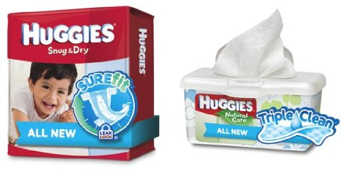 Huggies Snug & Dry Sure Fit