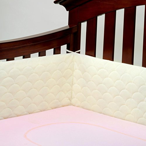 Lifenest Breathable Padded Mesh Crib Bumper