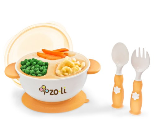 Zoli Baby Stuck Suction Feeding Bowl Kit