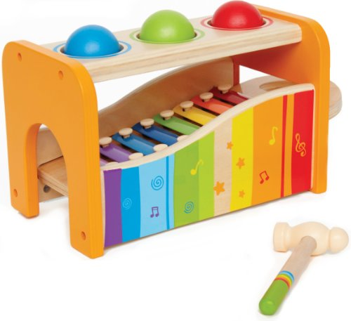 Hape Pound & Tap Bench / Educo Early Melodies Pound and Tap Bench