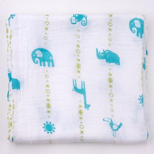 Bambino Land Muslin Organic Blanket