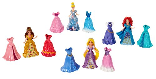 Disney Princess Little Kingdom MagiClip Fashion Gift Set