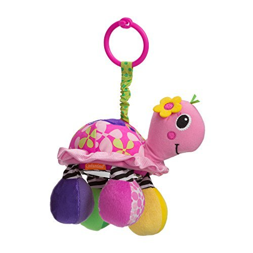 Infantino Sparkle Topsy Turtle Mirror Pal by Infantino