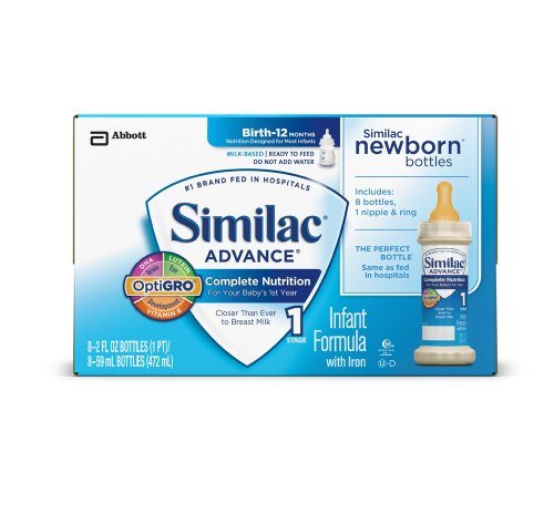 Similac Advance Newborn Ready to Feed Formula