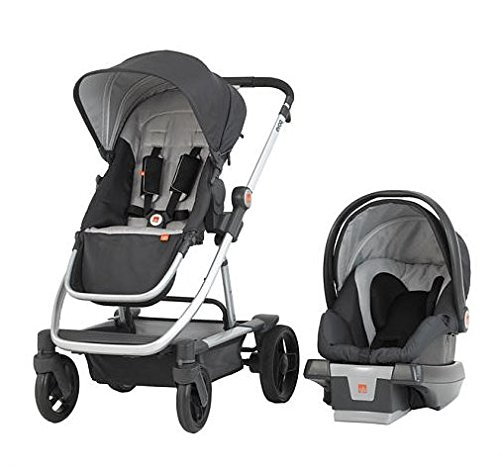 GoodBaby EVOQ 4-In-1Travel System, Charcoal