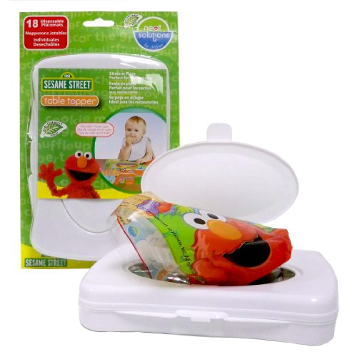 Neat Solutions Sesame Street Table Topper with Travel Case