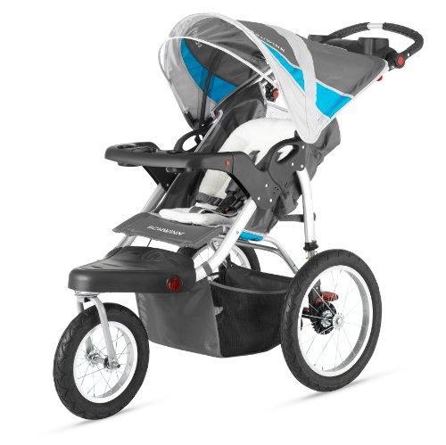 Schwinn Turismo Single Swivel Stroller