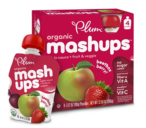 Plum Kids Organic Fruit and Veggie Mashups