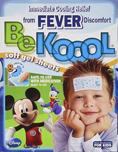 Be Koool Soft Gel Sheets For Kids For Fever