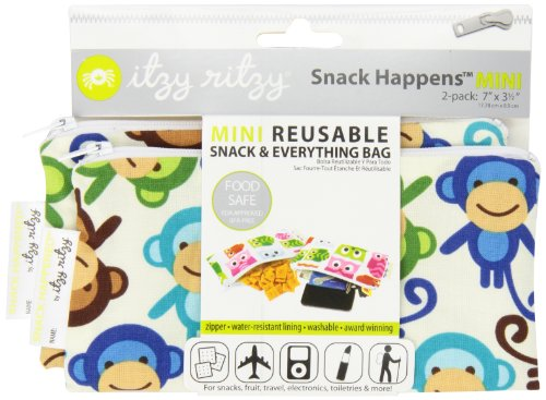 Itzy Ritzy Snack Happened Mini Reusable Snack Bag