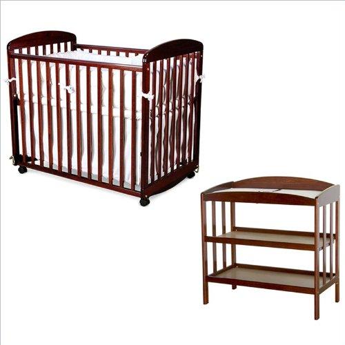 DaVinci Alpha Mini Rocking Wood Crib