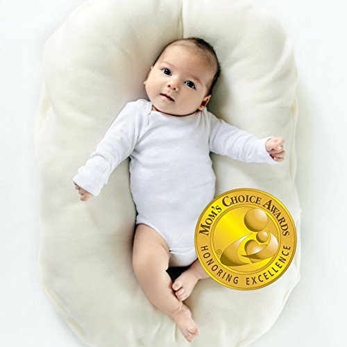 Snuggle Me Organic Infant Lounging and Bed-Sharing Cushion