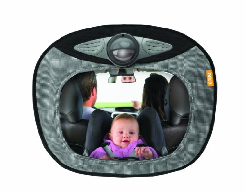 Brica mirror with light for car