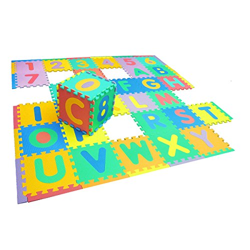 Floor Mat Foam Blocks