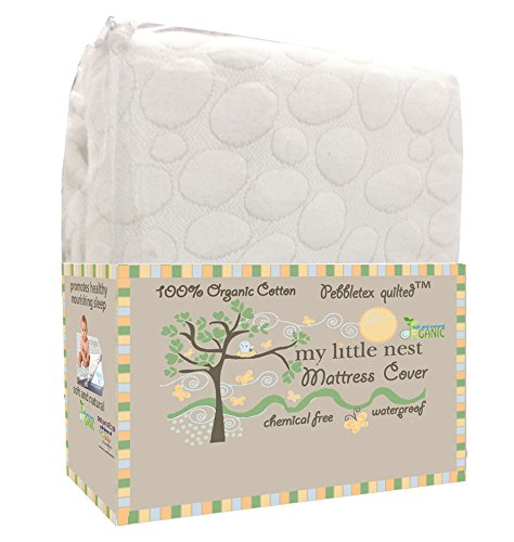 My Little Nest Pebbletex Crib Mattress Pad