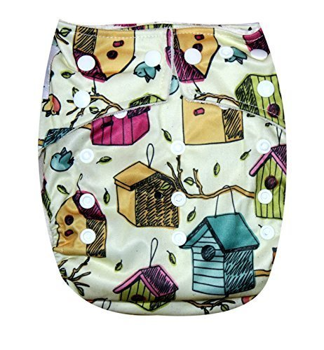 Kawaii Baby One Size Organic Bamboo Terry Cloth Diaper