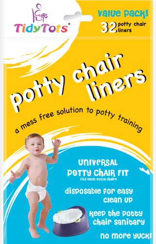 TidyTots Disposable Potty Chair Liners
