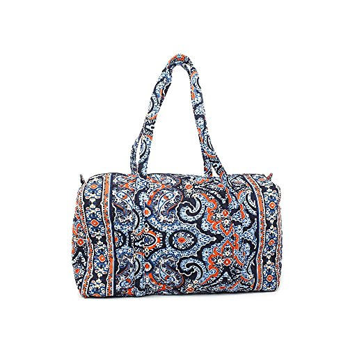Vera Bradley Luggage Women's Large Duffel Marrakesh Duffel Bag