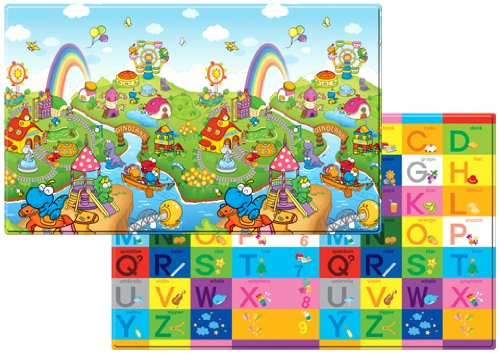 Dwinguler Kid's Playmat Dino Land