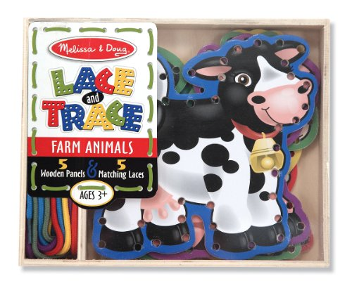 Melissa & Doug Lace and Trace Farm