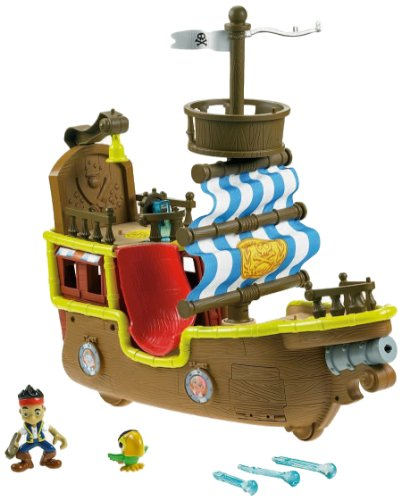 Fisher-Price Disney's Jake and The Never Land Pirates Musical Pirate Ship Bucky