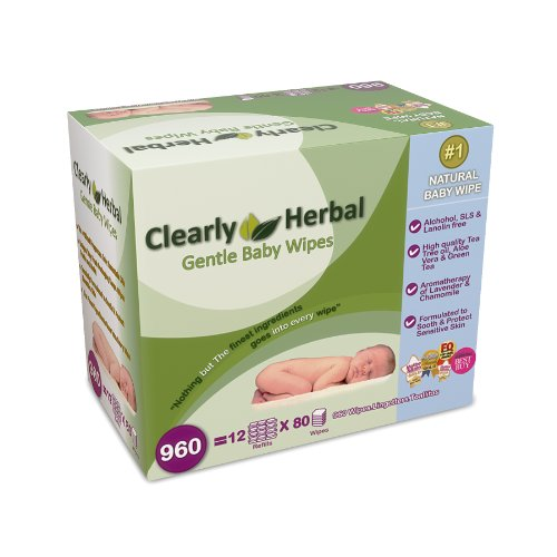 Clearly Herbal Baby Wipes