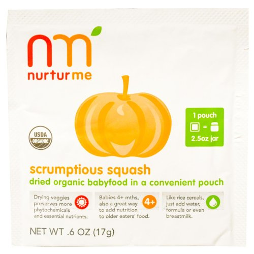 Scrumptious Squash Baby Food Packet