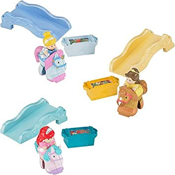 Little People Disney Princess Klip Klop Set