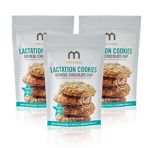 Milkmakers Oatmeal Chocolate Chip Lactation Cookies