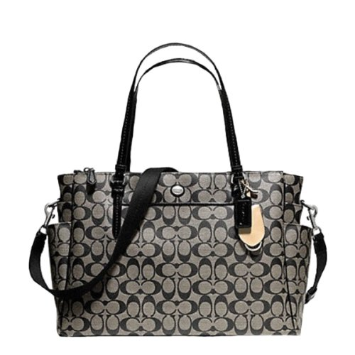 Coach Peyton Signature Multifunction Tote/Baby Bag