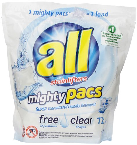 All Mighty Pacs - Free and Clear Laundry Detergent