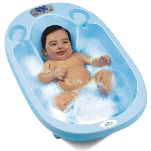 Aqua Scale 3-in-1 Baby Bath Tub, Scale and Water Thermometer