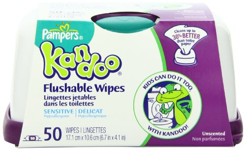 Pampers Kandoo Flushable Wipes