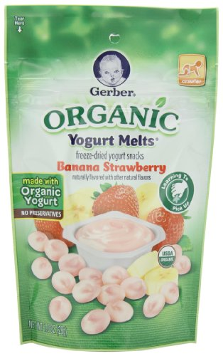 Gerber Organic Yogurt Melts