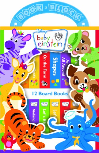 Disney Baby Einstein 12 Book Library